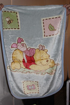 Disney Winnie the Pooh Luxury Plush Fleece Blanet Piglet and Pooh - $50.00