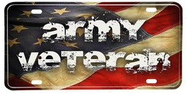 United States Army Aluminum NOVELTY License Plate - Army Veteran - $12.82