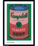 Andy Warhol Campbells Soup Art Poster Print  Custom Framed - $113.85