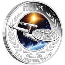 2015 Star Trek Proof  Silver 2 Coin Set Signed By William Shatner NGC PF70UC ER image 7