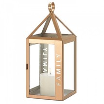 Large Rose Metal Family Lantern - $35.97
