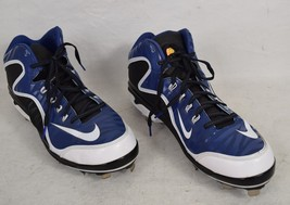 Nike Swingman MVP 2 Mid Metal Baseball Cleats 12 Mens 616258-410 - $34.65