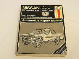 Haynes Manuales Nissan/Datsun Recogida & Pathfinder 1980-1997 Auto Repar... - $16.03