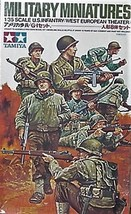 Tamiya Military Miniatures Kit 35048 1/35, 8 US Infantry Western Europe Theater image 2