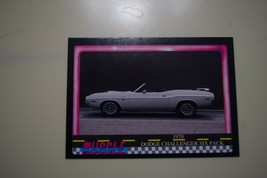MUSCLE CARDS SERIES 1 KING OF THE HILL #69 1970 DODGE CHALLENGER SIX PACK - $3.72