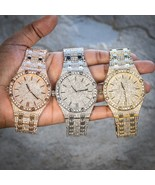 Men's Fully Iced Out Big Face Presidential Watch - $49.99