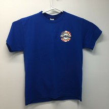 Firefighters of Tampa Bay Pipe&Drums Jerzees Mens Blue T-shirt  XL Graph... - $18.80