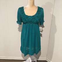 ECI Short Sleeve Embellished Dress, NWT, Size 6 - $16.95