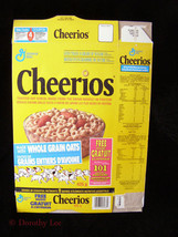 General Mills Cheerios Cereal Box Flat 101 Dalmatians - $16.99