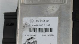 Mercedes W220 S430 S55 Rear Right Under Seat Fuse Relay Box SAM A-032-545-81 32 image 5