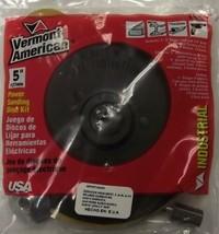 "Vermont American 16980 5"" Industrial Sanding Kit KS-50 9 Discs USA - $4.21"