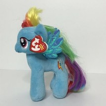 TY Rainbow Dash My Little Pony Original Beanie Babies Plush Stuffed Anim... - $14.84
