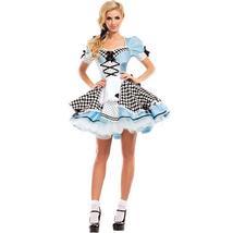 Sweet Blue Lolita Costume Alice In Wonderland Cosplay image 1