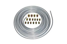 A-Team Performance 3/16'' Double Walled Galvanized Steel Tube Roll Brake Line Ki - $19.99