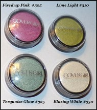 NEW CoverGirl Flamed Out Shadow Pot Eye Shadow #305 #350 #310 #325     F... - $3.00