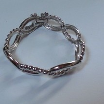 "Monet Silver tone Bracelet 7.5"" - $19.80"