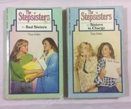 The Stepsisters Vintage Paperback Books By Tina Oaks  - $7.70