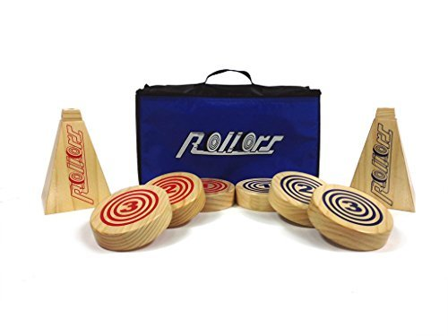 Rollors Backyard Game for Kids, Groups of All Ages & Families - The #1 Lawn Game