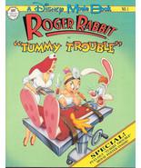 Disney Movie Book #1 Roger Rabbit in Tummy Trouble Graphic Novel 1990 FINE+ - $7.84