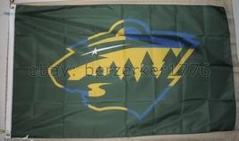 Minnesota Wild NHL Sweden Olympic World Cup 3'x5' Flag - USA Seller Shipper - $25.00