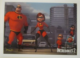 Incredibles 2 Lithograph Disney Movie Club Exclusive Limited Edition NEW - $6.98