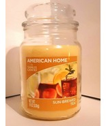 AMERICAN HOME by YANKEE CANDLE Sun Brewed Tea, 19 oz Large Jar Candle - $27.97