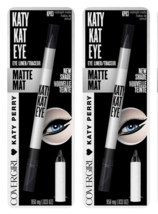 (2-Pack) Covergirl Katy Kat Eye Liner, Midnight Matte, 0.033 Oz - $11.99