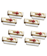 Seat Belt Tension Adjuster 8-Pack, White to Get Seatbelts Off Your Neck - $15.98