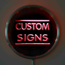 Neon LED Round  Custom Light Sign Personalized - $59.99