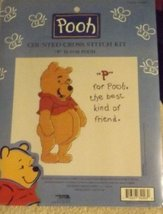 """P"" Is For Pooh - Cross Stitch Kit - $14.41"