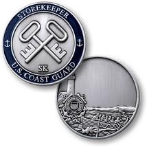 "USCG COAST GUARD STOREKEEPER SK 1.75"" CHALLENGE COIN - $17.14"
