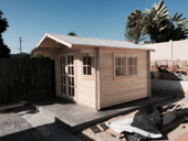 pre made: Guest house, storage shed, office space, pool house, extra room, sauna