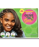ORS Olive Oil Girls Built In Protection Plus No Lye Conditioning Hair Re... - $11.83