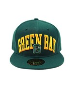 Green Bay Men's City Name Adjustable Snapback Baseball Cap (Green/Gold) - $13.75