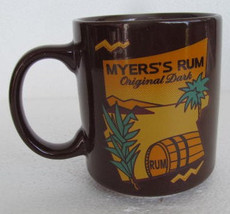 Myer's Rum Original Dark Brown Color Novelty Coffee Collectible Mug - $7.99