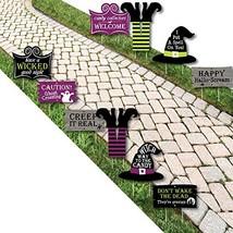 Happy Halloween - Witch Lawn Decorations - Outdoor Halloween Yard Decora... - €51,58 EUR