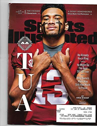 Primary image for Sports Illustrated Magazine (December 31, 2018) Tua Tagovailoa Cover [Single Iss