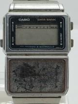 CASIO DATA BANK CALCULATOR watch FOR PARTS/REPAIR digital - $35.66 CAD