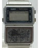 CASIO DATA BANK CALCULATOR watch FOR PARTS/REPAIR digital - $26.99