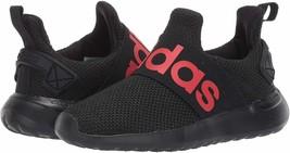 adidas Kids' Lite Racer Adapt Running Shoe Black FW7601  - $40.50