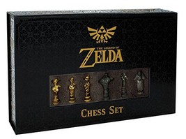 USAopoly The Legend of Zelda Chess Set | 32 Custom Sculpt Chess Pieces |... - $69.22