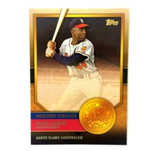 Hank Aaron 2012 Topps Golden Greats Insert #GG-51 MLB HOF Milwaukee Braves - $2.92