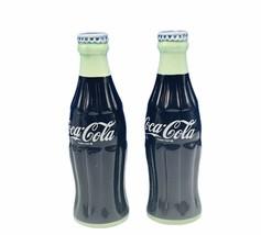 Coca Cola salt pepper shakers coke soda pop advertising bottle vtg decor... - $26.68