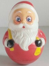 SANTA ROLLY-POLLY CHRISTMAS TOY KIDDIE PRODUCTS INC USA  - $31.83