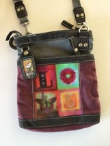 Sherpani Petal Elements Collection Let Love Rule Art Crossbody Shoulder ... - $29.65