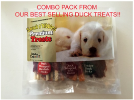 Duck Treats Combo Pack (16oz) - Pack of 2  - $42.99