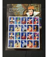 Neuf 20 USPS Timbres 2017 Disney Villains Toujours Envoi Timbres - $18.00