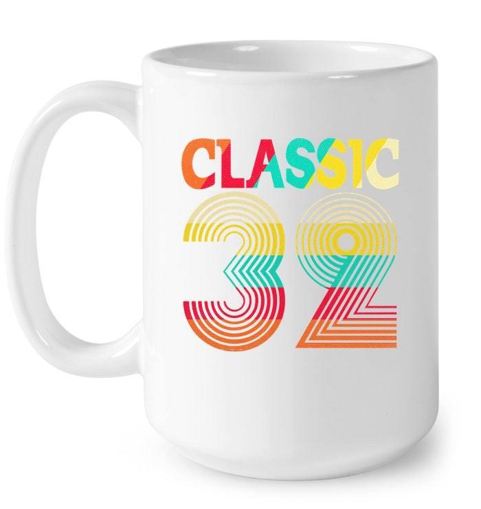 Classic 32 Great 86th Birthday Retro Gift Gift Coffee Mug