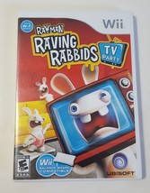 Rayman Raving Rabbids: TV Party - Nintendo Wii 2008 Video Game CIB Complete - $8.86