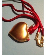 Estee Lauder LOVE HEART 2011 Solid Perfume Compact and Necklace - FREE SHIPPING - $30.00